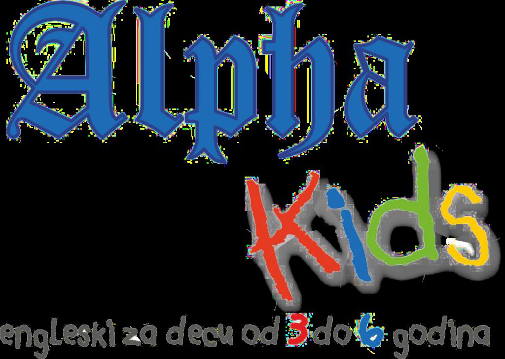 Alpha kids logo